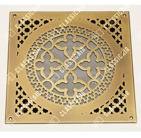 Вентиляционная решетка из латуни