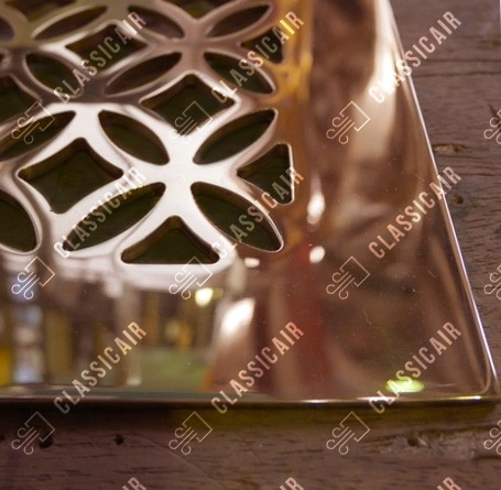 Латунная напольная решетка