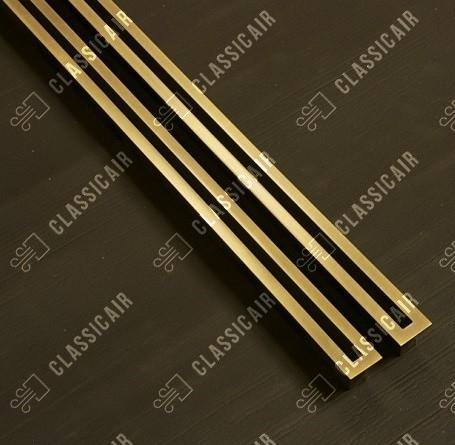 Щелевые решетки из латуни
