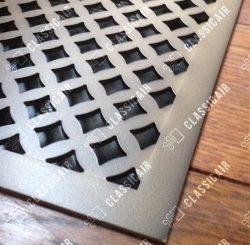 Стальная решетка с декоративным покрытием под состаренную бронзу