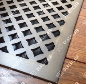 Напольная решётка металлическая с покрытием под бронзу