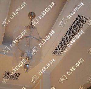 Декоративная вентиляционная решётка с орнаментом Majestic