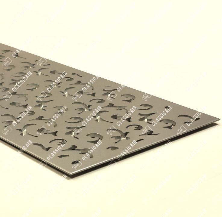 Алюминиевая напольная решетка