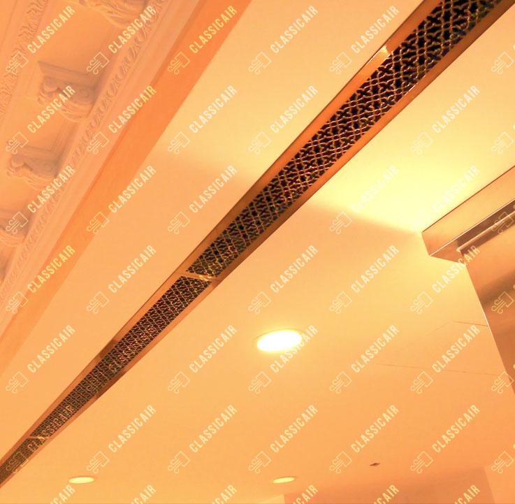 Вентиляционные решетки под бронзу