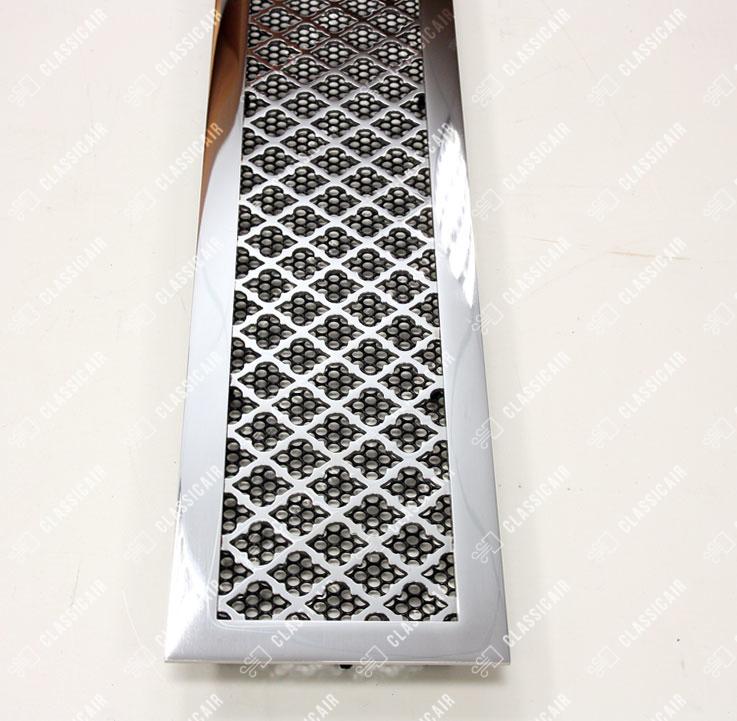Вентиляционная решетка из полированной нержавейки