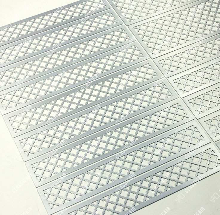Изделия из полированного алюминия