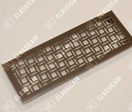 Вентиляционная решетка из нержавеющей стали