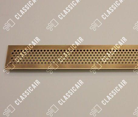Решетка для подоконника из состаренной латуни