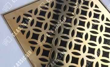 Напольная решетка из латуни
