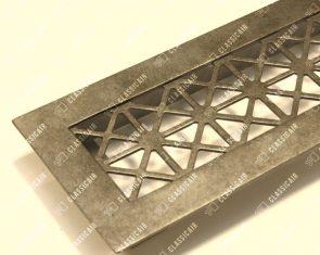С накладной рамкой и покрытием под античное серебро