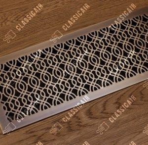 Стареная латунная вентиляционная решетка