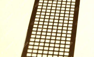 Темная решетка из латуни для вентиляции