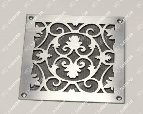 Квадратная решетка из стали