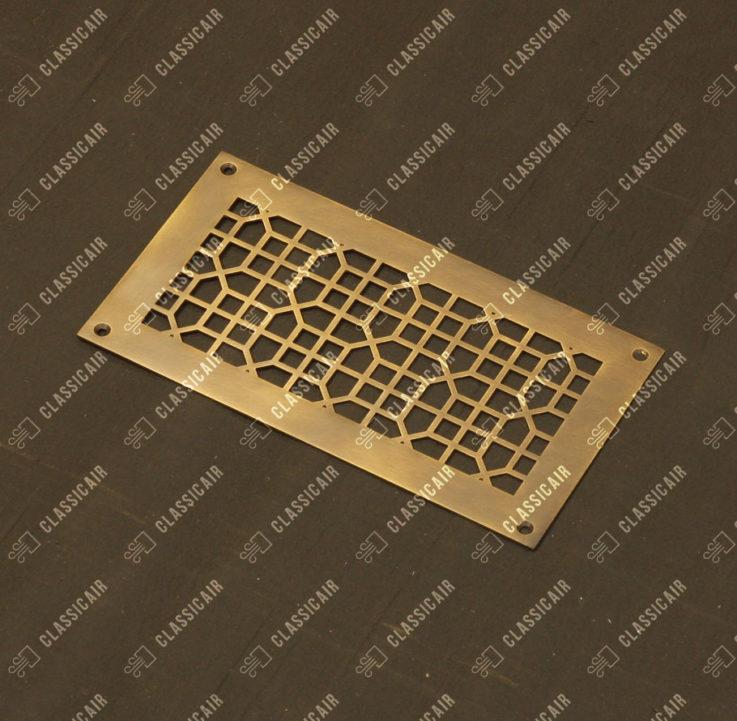 Решетка из старенной латуни для вентиляции