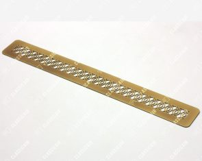 Плоская решетка из состаренной латуни