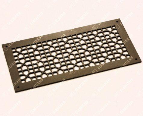 Пластиковая решетка плоской конструкции