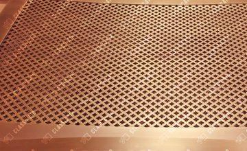 Радиусные решетки для вентиляции
