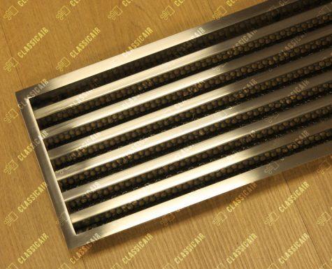 Вентиляционная решетка из нержавейки с ламелями