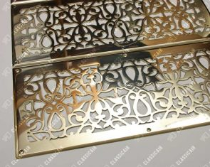 Золотые вентрешетки из латуни