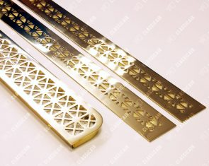 Комплект изделий под золото в подоконники