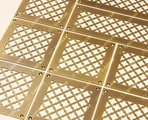 Комплект решеток из латуни